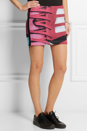 Adidas Originals Mary Katrantzou Charger Scuba Jersey Mini Skirt Intl Shipping
