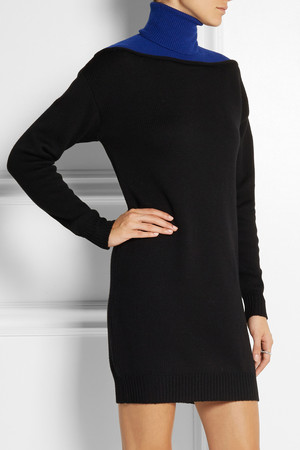 Alexander Wang Merino Wool Turtleneck Sweater Dress Intl Shipping