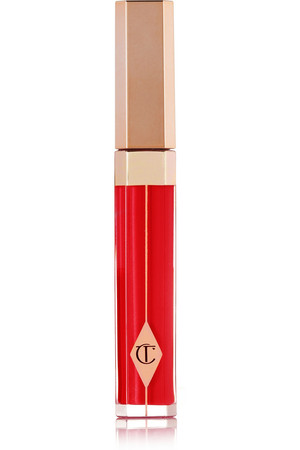 Charlotte Tilbury Lip Lustre Luxe Colour Lasting Lip Lacquer Red Vixen Intl Shipping