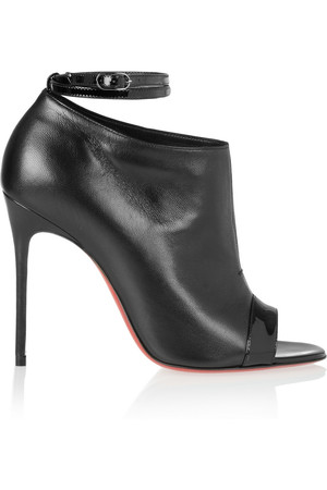 Christian Louboutin Diptic 100 Leather Ankle Boots Intl Shipping