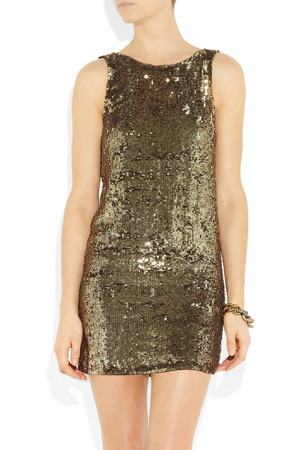 Faith Connexion Sequined Mini Dress Intl Shipping