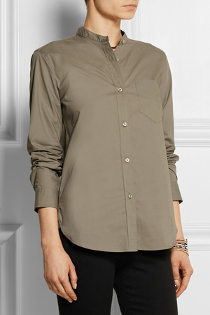 Isabel Marant Wayne Cotton Poplin Shirt Intl Shipping