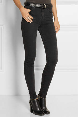 J Brand Jess Photo Ready High Rise Stacked Skinny Jeans Intl Shipping
