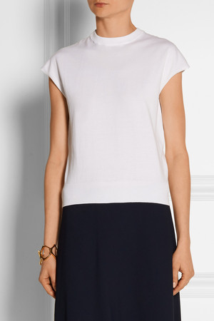 Michael Kors Fine Knit Cotton Top Intl Shipping