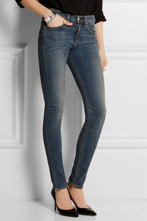 Rag Bone The Skinny High Rise Jeans Intl Shipping
