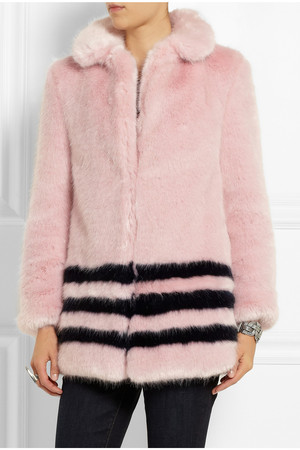 Shrimps Dulcie Faux Fur Coat Intl Shipping