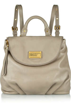 Marc By Marc Jacobs Classic Q Mariska Grained Leather Backpack