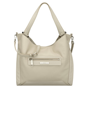 Nine West Alexi Leather Hobo Bag White