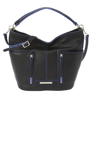 Nine West Georgina Hobo Bag Black