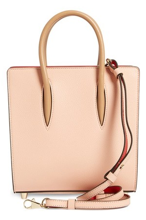 Christian Louboutin Small Paloma Empire Calfskin Leather Tote