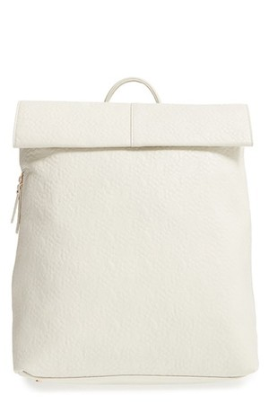 Poverty Flats By Rian Faux Leather Convertible Backpack