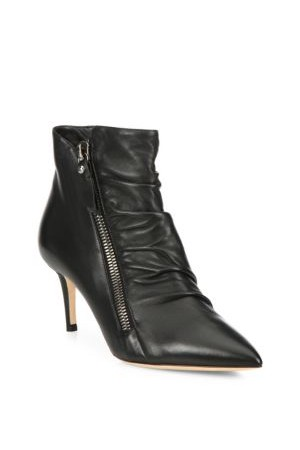 Jimmy Choo Dayton 65 Leather Point Toe Booties