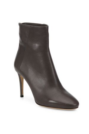 Jimmy Choo Duke 85 Leather Booties