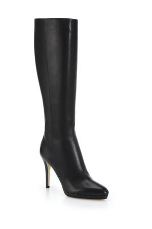 Jimmy Choo Glynn 100 Leather Knee High Boots