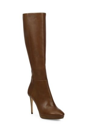 Jimmy Choo Hoxton 100 Tall Leather Boots