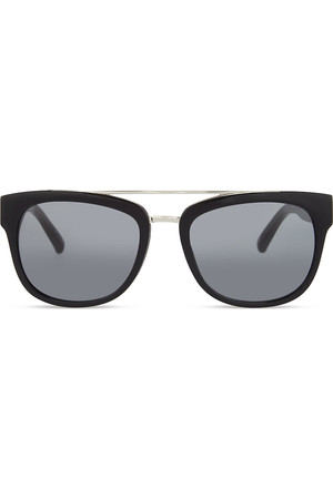 31 Phillip Lim PL144 C1 Rectangle Frame Sunglasses Black
