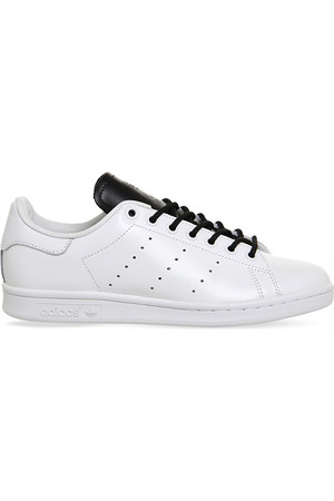 Adidas Stan Smith Leather Trainers White monochrome