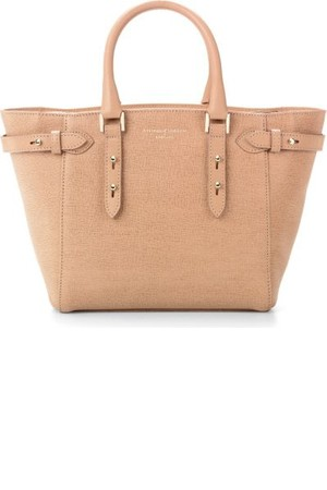 Aspinal Of London Marylebone Mini Saffiano Leather Tote Deer from Selfridges