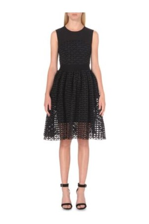 Maje Restano Lace Dress Black