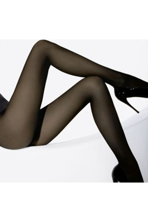 Wolford Individual 10 Tights Nearly Black
