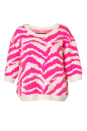 Mavera Hot Pink Sweater