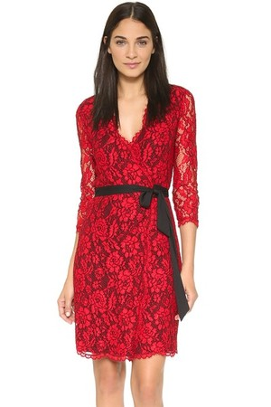 Diane Von Furstenberg Dvf Julianna 3 4 Sleeve Dress