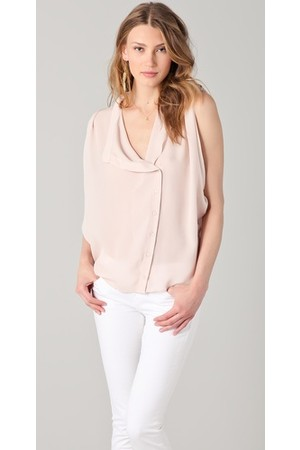 Parker Sleeveless Drape Top