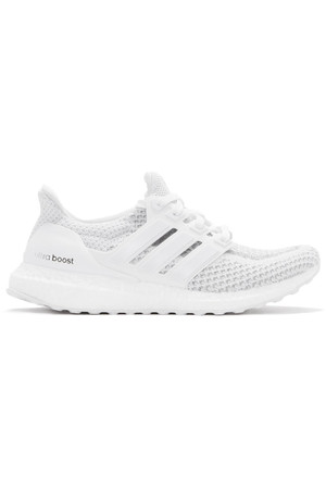 Adidas Originals White Ultra Boost Sneakers