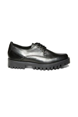 Steve Madden Scottchh Black Leather