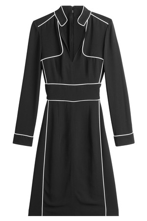 Burberry London Dress With Contrast Piping