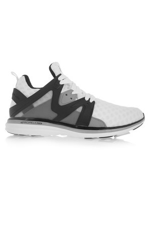 Athletic Propulsion Labs Athletic Propulsion Labs Ascend Mesh And Rubber Sneakers White