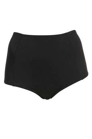 Topshop Black High Waisted Bikini Pants