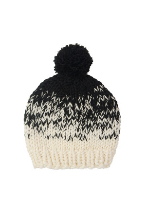 Mabel Made This Ombre Hat Cream to Black