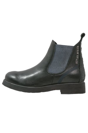 replay bitter ankle boots schwarz theshoppingtrend. Black Bedroom Furniture Sets. Home Design Ideas