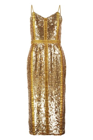 Virgos Lounge HONOR Cocktail dress Party dress gold