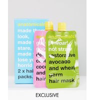 Anatomicals ASOS Exclusive Hair Pack x 2 Masks