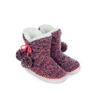 Accessorize Agnes Multi Coloured Slipper Boots