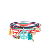 Accessorize Charmy Elastic Stretch Bracelets Pack