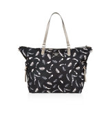 Accessorize Feather Print Tote Bag