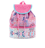 Accessorize Floral Print Drawstring Backpack