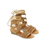 Accessorize Ghille Lace Up Wedge Sandal