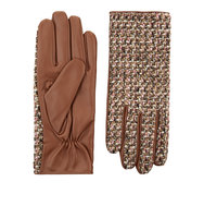 Accessorize Jolene Boucle Leather Gloves