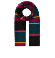 Accessorize Mabel Brushed Stripe Scarf