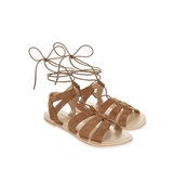 Accessorize Oriana Ghillie Lace Up Sandals