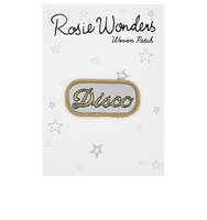 Accessorize Rosie Wonders Disco Iron On Patch