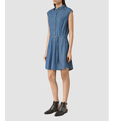 AllSaints Sanko Sleeveless Dress