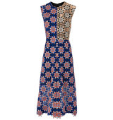 Jonathan Saunders Blue Star Lace Melissa Dress
