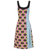 Jonathan Saunders Hot Pink Sleeveless Siri Dress