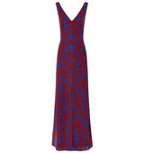 Jonathan Saunders Spice Crepe Printed Mathea Dress