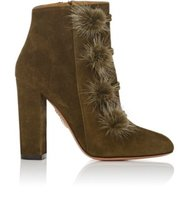 Aquazzura Ulyana Suede Ankle Boots